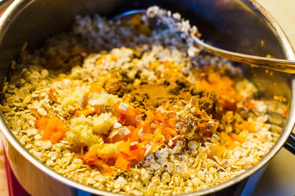 Golden Porridge Zutaten
