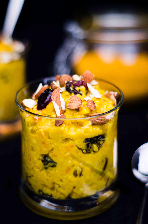 Golden Porridge mit Kürbis
