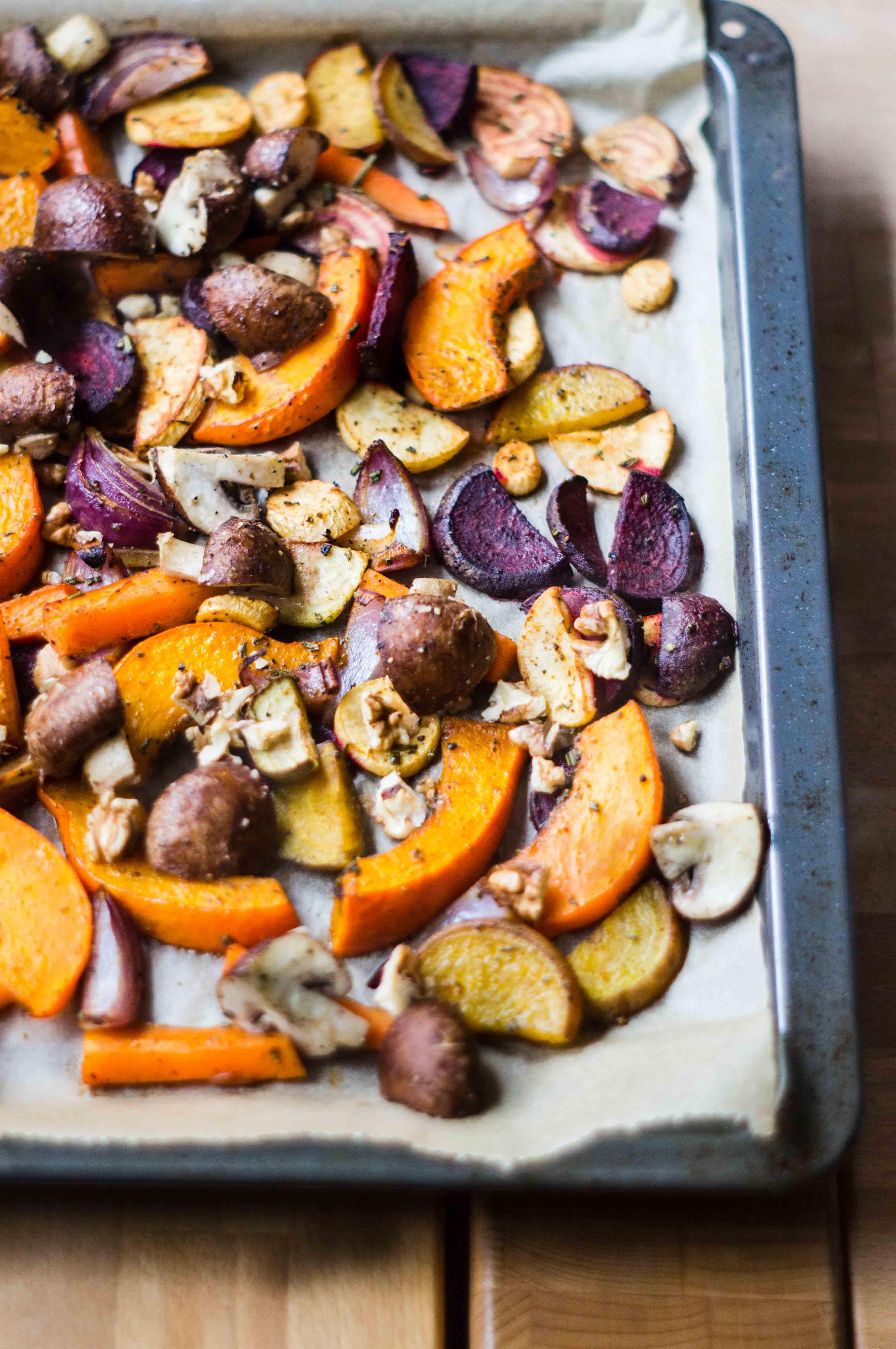 Herbstliches Ofengemüse