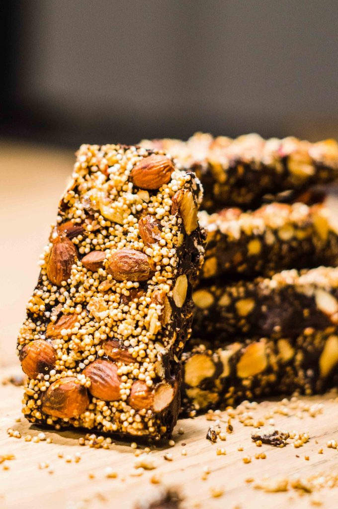 Nuss-Crunch-Schokolade