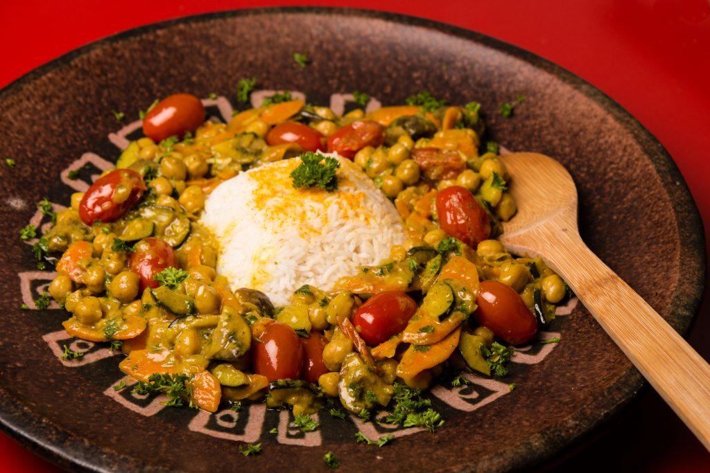 Kichererbsen-Curry
