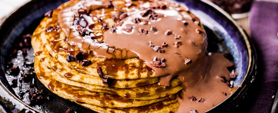 Salty Peanut Pancakes