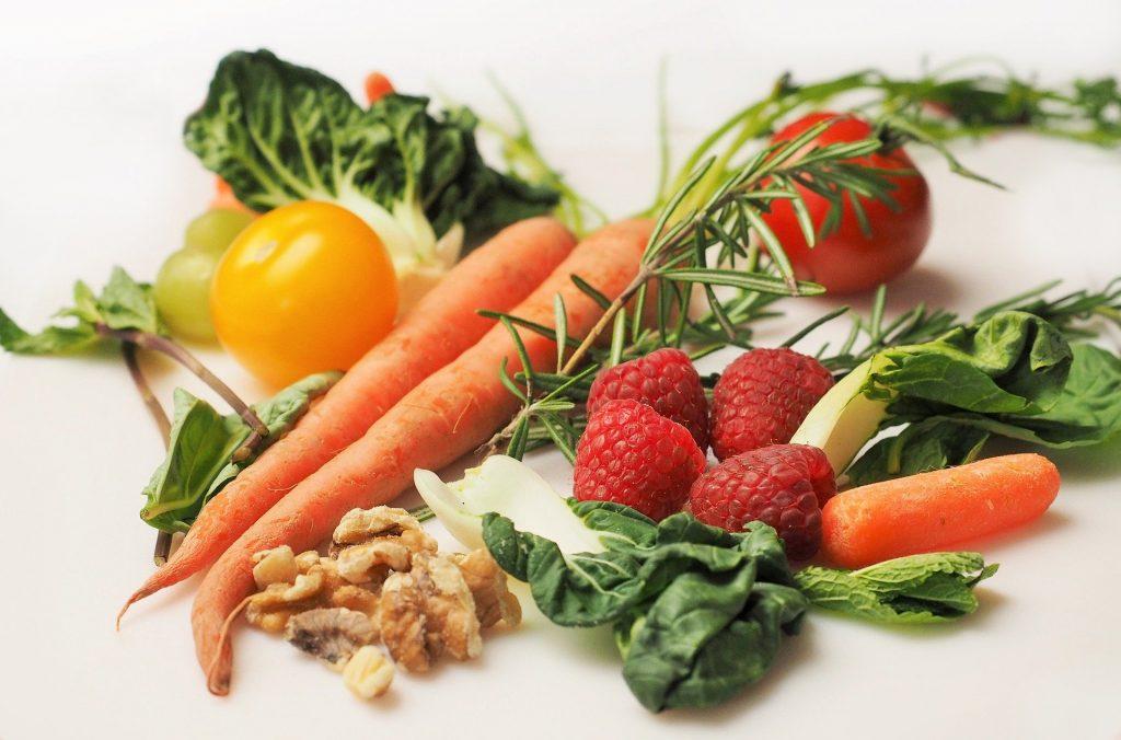 Gemüse Früchte Kräuter